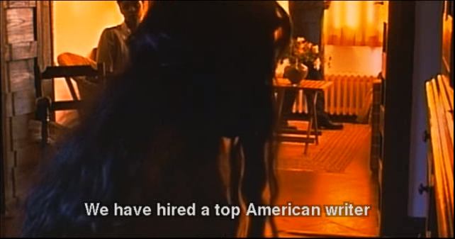 8. We Have Hired a Top American Writer